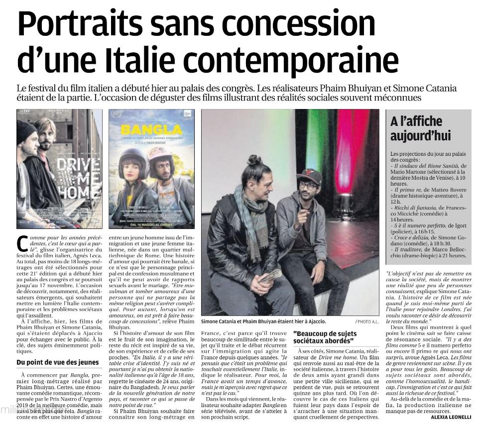 portrait festival du film italien
